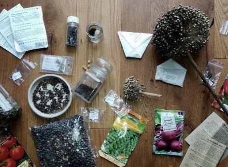 Semínka z různých zdrojů