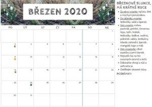 Kalendář nabřezen 2020